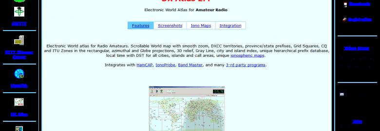 DX Hunter Atlas Software