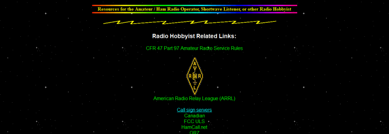 Amateur and other Radio Hobbyist Links