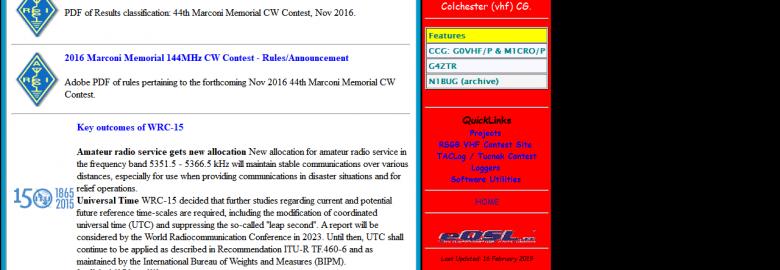 VHF DX Propagation Information