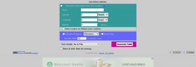 Clarke Belt Calculator
