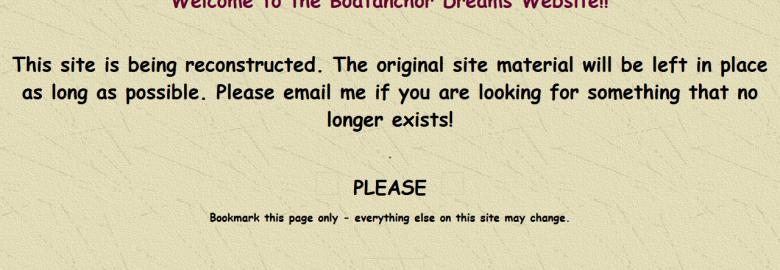 Boatanchor Dreams