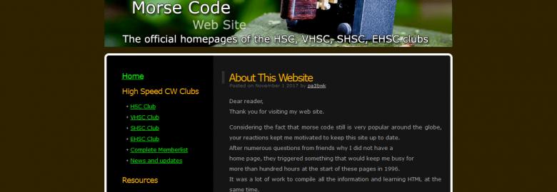 PA3BWK's Ultimate Morse Code