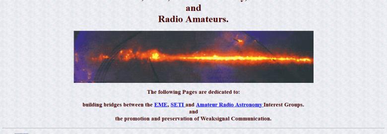 EME, SETI, Radio Astronomy, DSP and Radio Amateurs