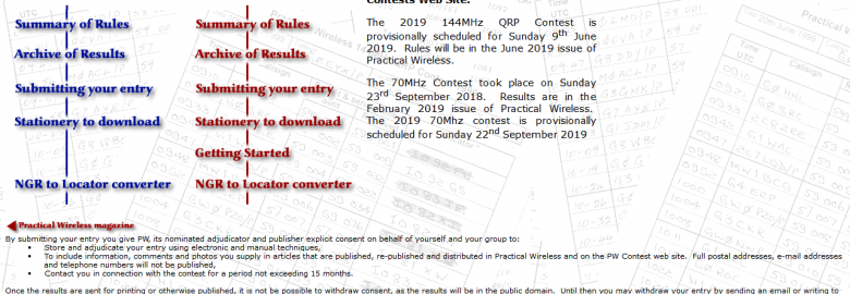 Practical Wireless Contests
