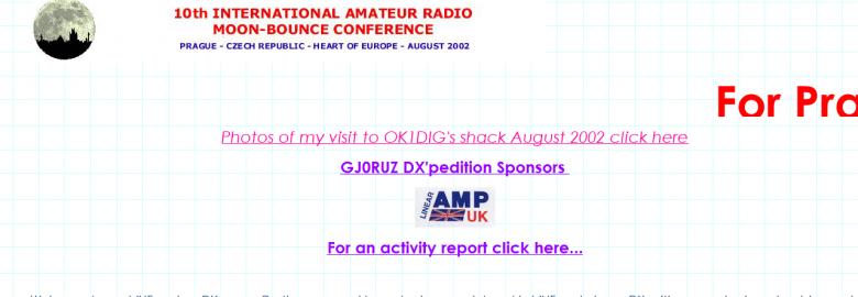 G0RUZ VHF, UHF, SHF DX Page