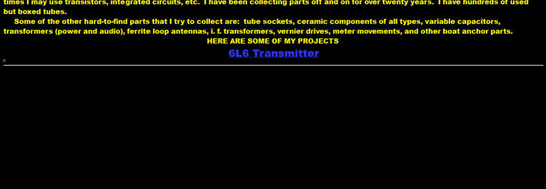 K4GC's Homebrew Amateur Radio Page