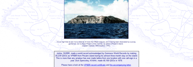 Pitcairn DXpedition