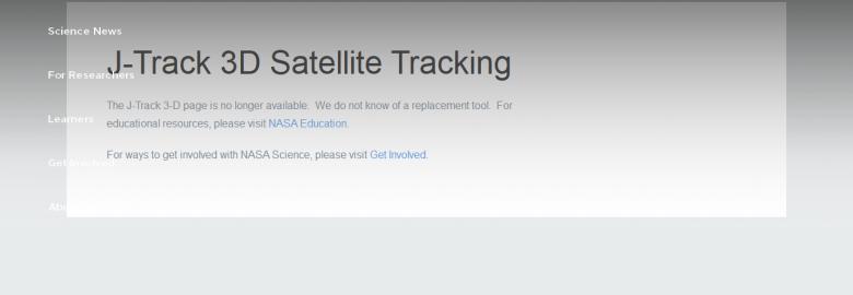 J-Track 3-D Satellite Tracking