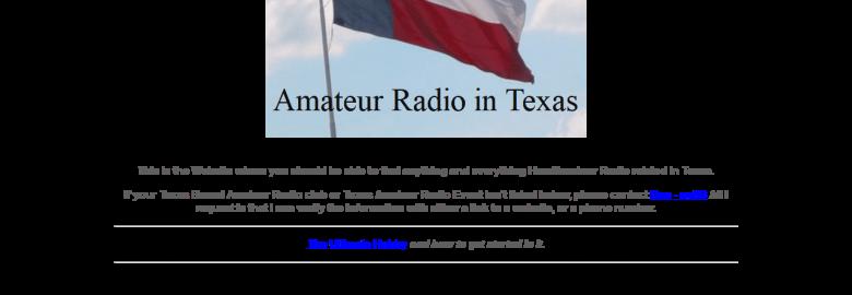 TexasHams.org – Amateur Radio in Texas