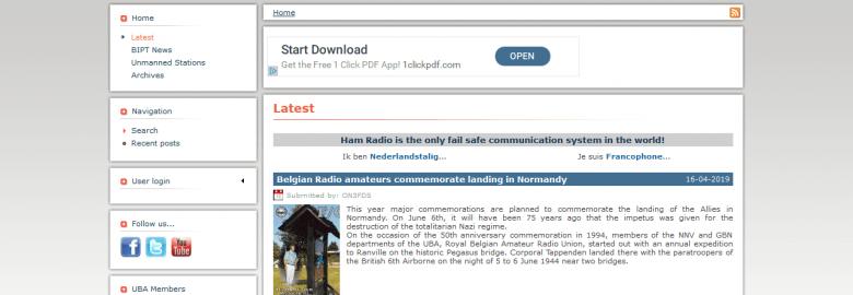 UBA – Belgian Amateur Radio Society