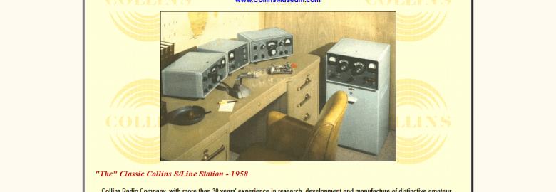 Virtual Collins Radio Museum